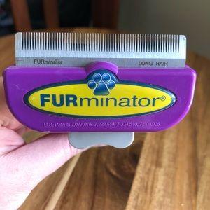 Furminator De-Shedding Tool Long Hair Cat